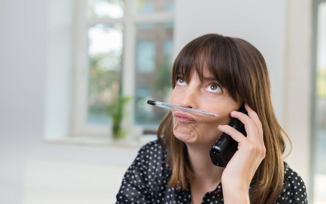 15 świetnych sposobów nazmarnowanie kontaktu telefonicznego