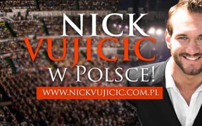 Nick Vujicic wPolsce!